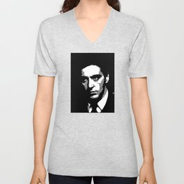 Al pacino - The godfather Unisex V-Neck