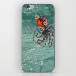 Octopus & Me iPhone Skin