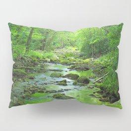 Rocky Forest Creek Pillow Sham