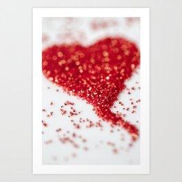Sugar Heart Art Print