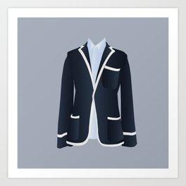 Best Dressed - Blazer Art Print