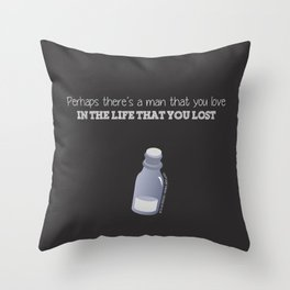 Captain Swan Quote (OUAT) Throw Pillow