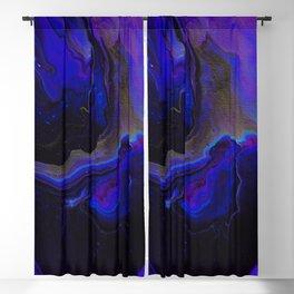 Dark Purple Blue Galaxy - Midnight Shades Blackout Curtain