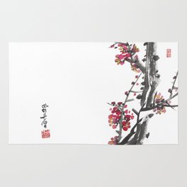 Plum Blossom Two Rug