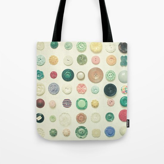 The Button Collection Tote Bag