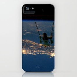 """""""Big Swing Thing"""" by Barry James Lee iPhone Case"""