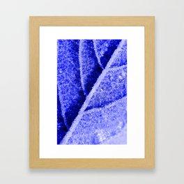 Frozen out Framed Art Print