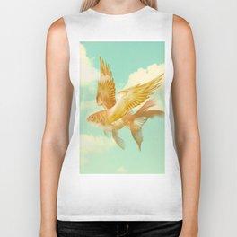 Flying Goldfish Biker Tank