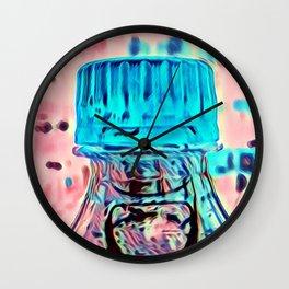 Capped Wall Clock