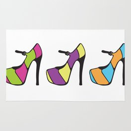 High Heel Parade Rug