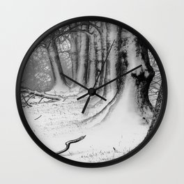 Winter Wonderland 2 Wall Clock