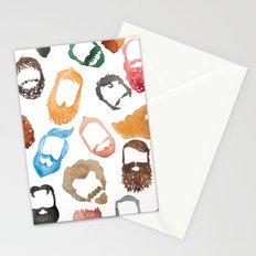 Beards on Beards Stationery Cards