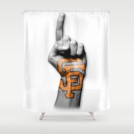 SF #1 Shower Curtain