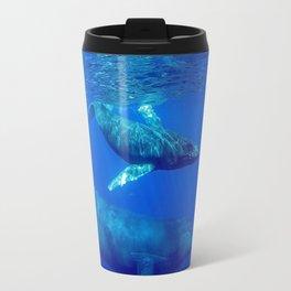 Underwater Humpbacks 10 Travel Mug