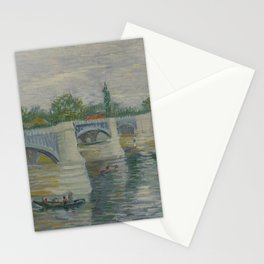 The Bridge at Courbevoie Stationery Cards