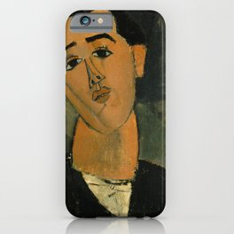 Amedeo Modigliani - Portrait of Juan Gris iPhone Case