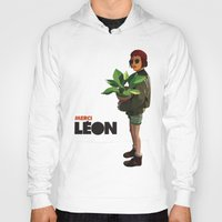 leon Hoodies featuring Mathilda, Leon the Professional by Natalié Art&Living