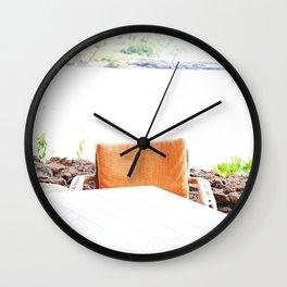 Mauna Kea Views Wall Clock