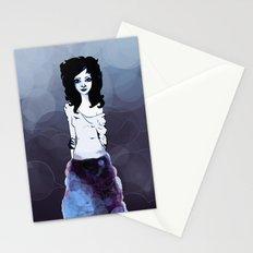 Bluish Stationery Cards
