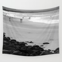 surf Wall Tapestries featuring Surf by Melanie Kane