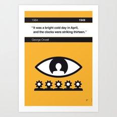 No008 MY 1984 Book Icon poster Art Print