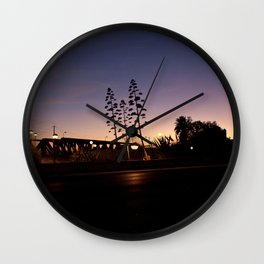Across the Avenue Wall Clock