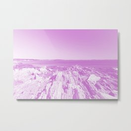 Vanishing Metal Print