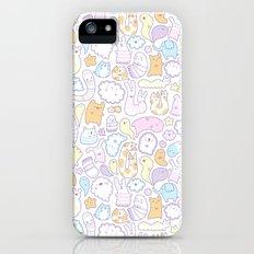 Dreamy Pastel Doodle iPhone (5, 5s) Slim Case