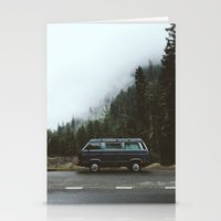 van Stationery Cards featuring Northwest Van by Kevin Russ