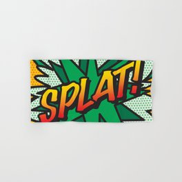 Comic Book SPLAT! Hand & Bath Towel