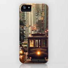 Cable car - San Francisco, CA iPhone Case