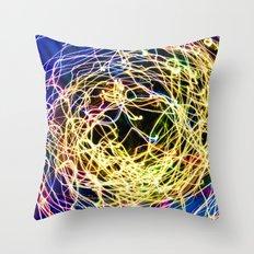 Moonsuit Throw Pillow