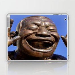 Yue Minjun Laughing men 1 Laptop & iPad Skin