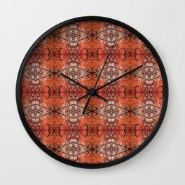 Scarlet Cloister Wall Clock