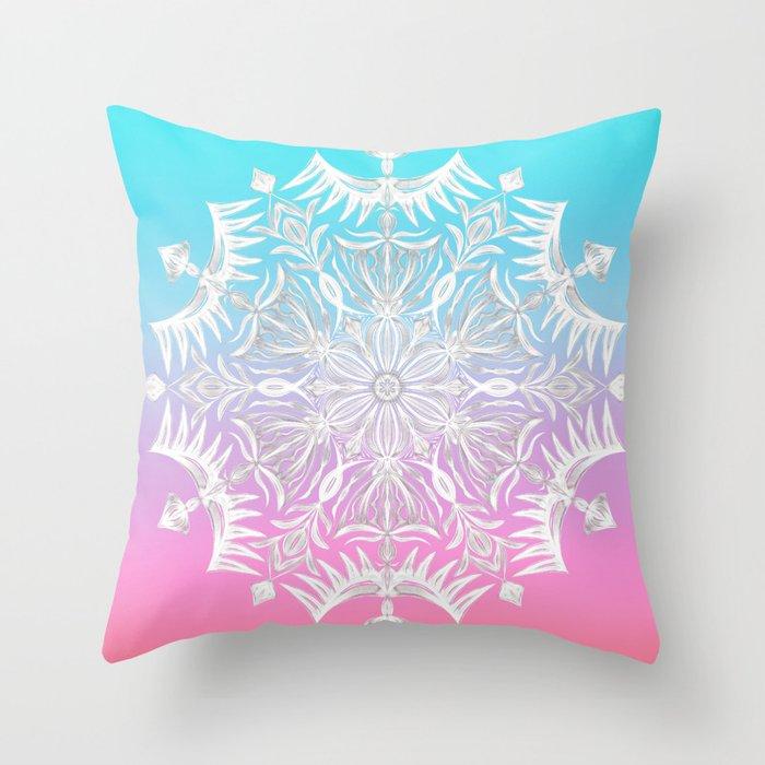Crystal Dawn Throw Pillow