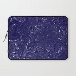 Blue and White Hurricane Laptop Sleeve