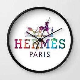 Hermess paris Logo Wall Clock