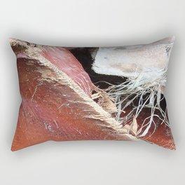Palm Collar Abstract Rectangular Pillow