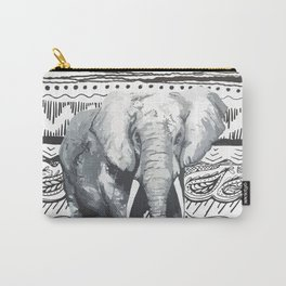Mr Elephant. Carry-All Pouch