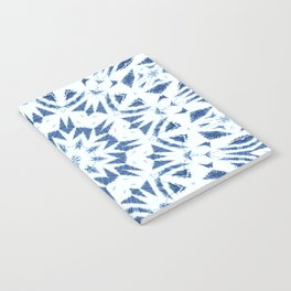 Snowflake Denim & White Notebook
