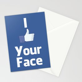 Your Face Stationery Cards