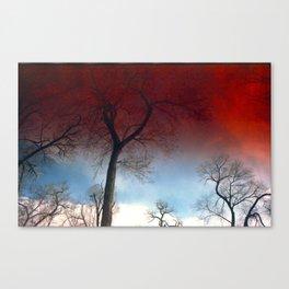 Skybloods Canvas Print