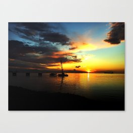 California Sunrise Canvas Print