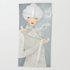 The Wings of the Dove Beach Towel