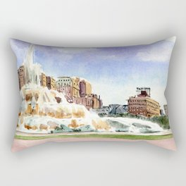 Buckingham Fountain - Chicago Rectangular Pillow
