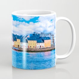 View Of The Long Walk From The Claddagh - Galway Ireland Coffee Mug