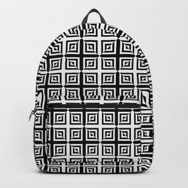 Square Pair Dance of Illusions Backpack