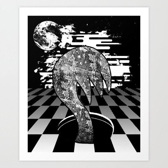 Claw Hole Art Print