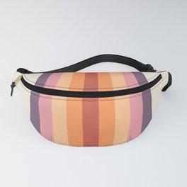 Velvet Morning Retro Stripes Fanny Pack
