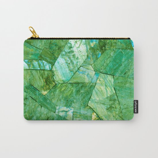 Labradorite Green Carry-All Pouch